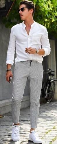 gri-pantolon-üstüne-ne-giyilir-erkek