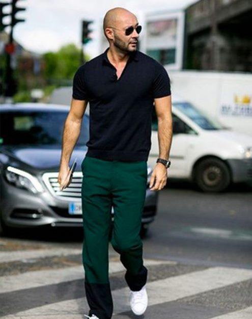 yeşil-pantolon-kombinleri-erkek