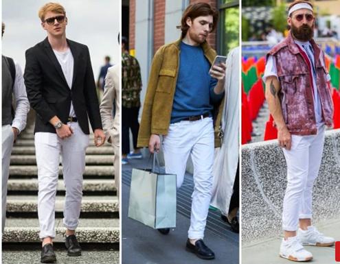 beyaz-pantolon-ayakkabı-kombin