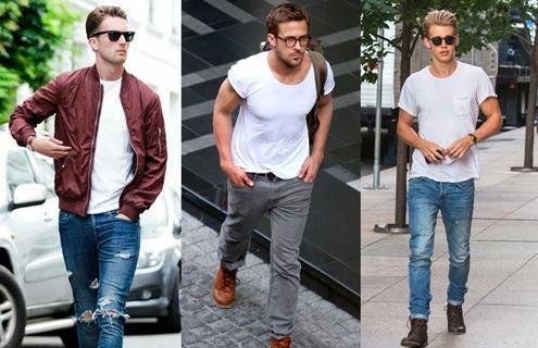 beyaz-tişört-kombinleri-erkek